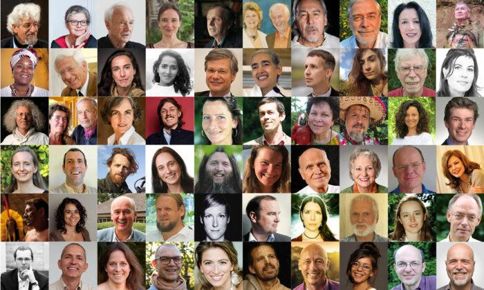Das Bild zeigt eine 60 unserer Expert:innen, mit denen wir Interviews geführt haben. Und das ist nur eine kleine Auswahl!